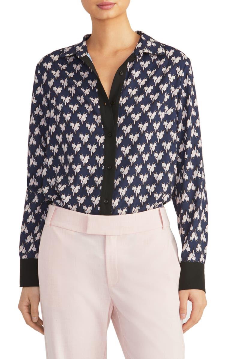 RACHEL ROY COLLECTION Lovebird Shirt, Main, color, 436