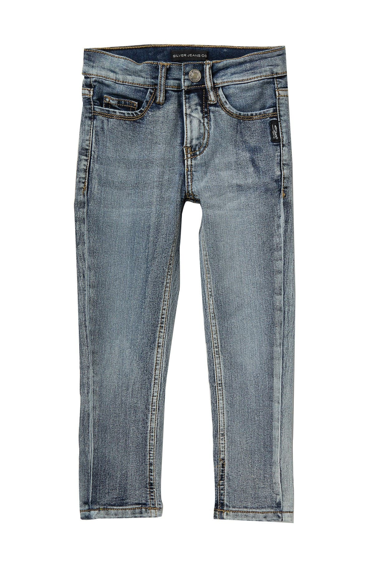 Image of Silver Jeans Co. Skinny Fit Denim