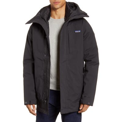 Patagonia Frozen Range 700 Fill Power Down 3-In-1 Jacket, Black