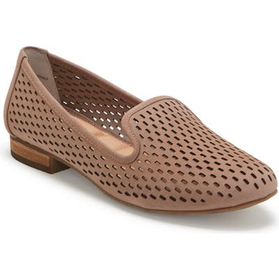 Me Too Yane Perforated Loafer- Beige