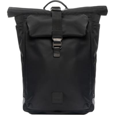 Knomo London Fulham Capsule Novello Backpack - Black