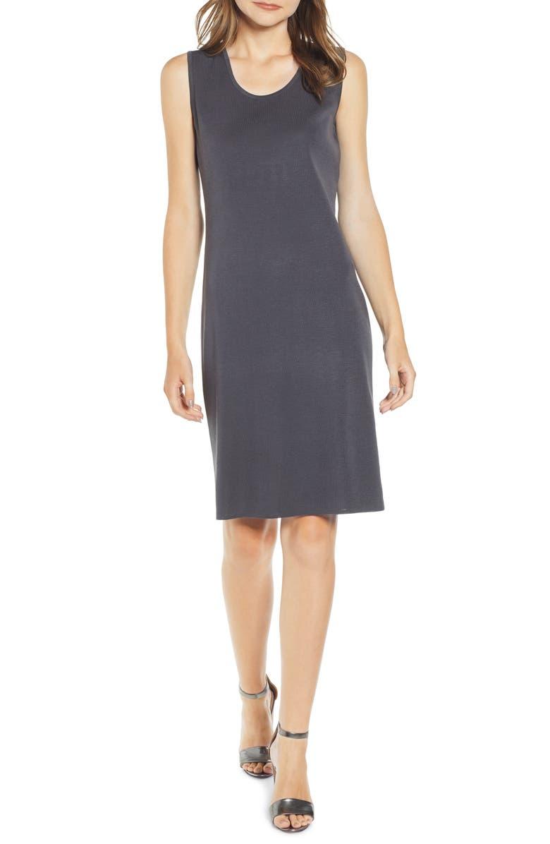 MING WANG Sweater Dress, Main, color, 020