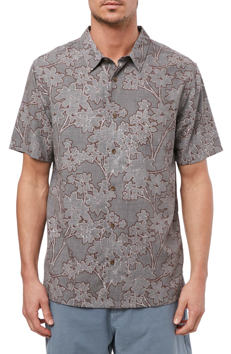 JACK O'NEILL Stoke Shirt, Main, color, GREY