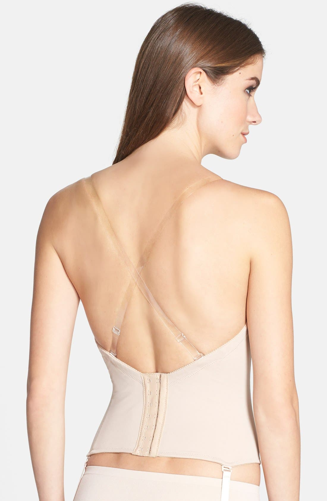 ,                             Ultra-Lift Low Back Bustier,                             Alternate thumbnail 8, color,                             261