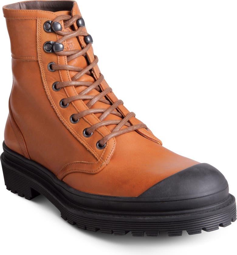 ALLEN EDMONDS Ranger Cap Toe Boot, Main, color, TAN
