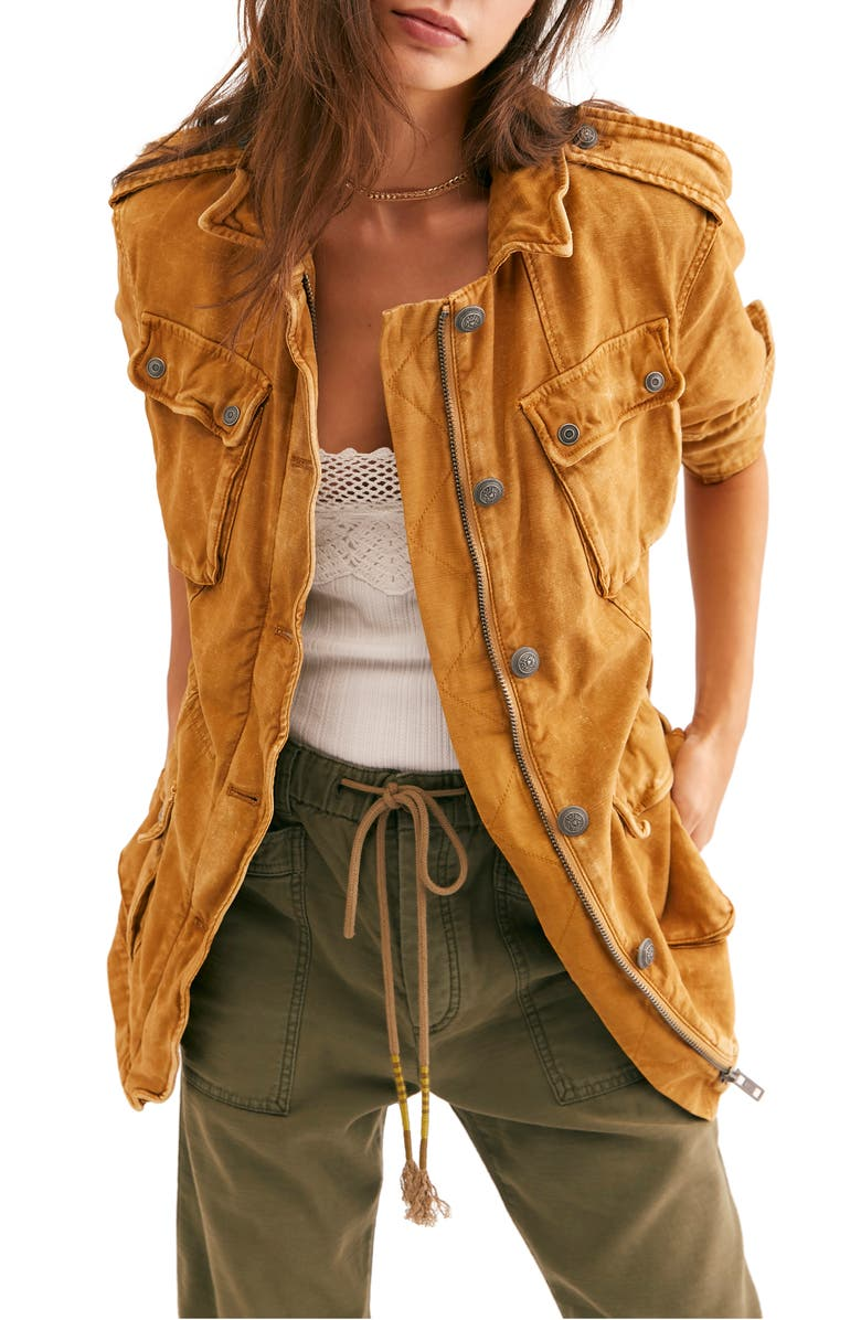 FREE PEOPLE 'Not Your Brother's' Utility Jacket, Main, color, 250