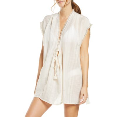 Robin Piccone Michelle Cover-Up Tunic, Ivory
