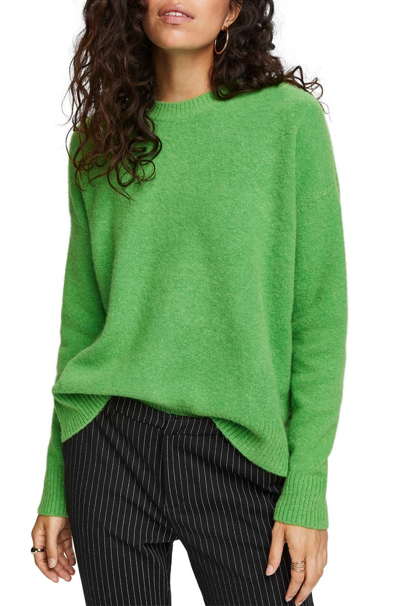 SCOTCH & SODA Crewneck Sweater, Main, color, 320