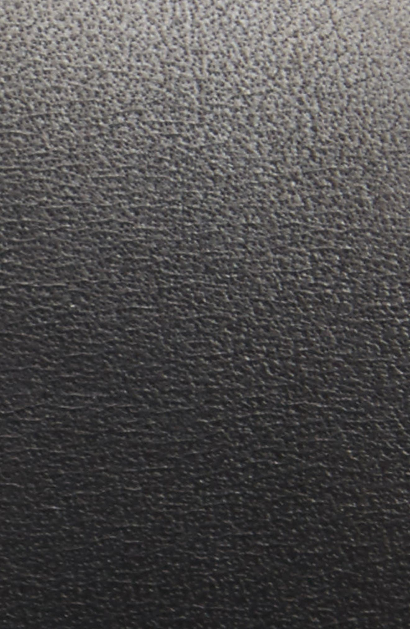 ,                             Leather Belt,                             Alternate thumbnail 2, color,                             BLACK