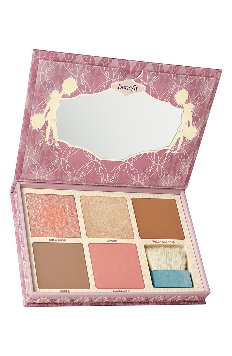 BENEFIT COSMETICS Benefit Cheekleaders Bronze Squad Cheek Palette, Main, color, 000