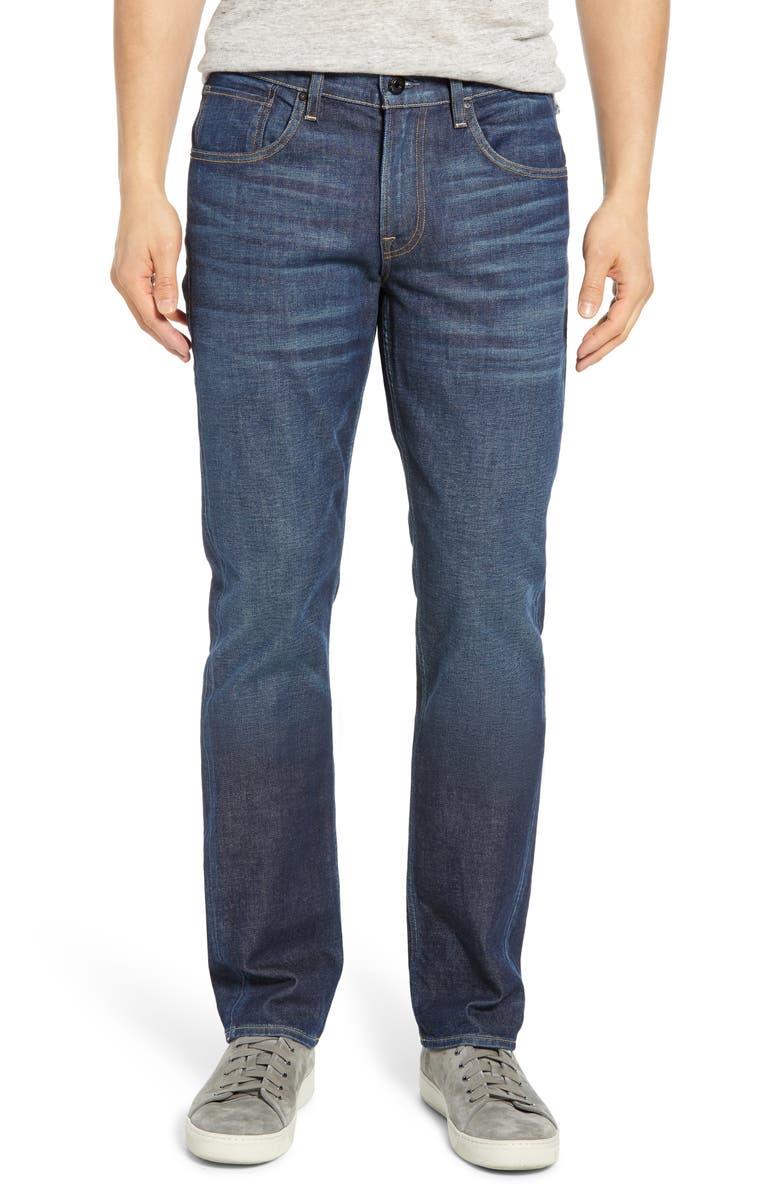 HUDSON JEANS Byron Slim Straight Leg Jeans, Main, color, 402