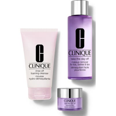 Clinique Take It All Off: Makeup Remover Set (Nordstrom Exclusive) ($61.50 Value)