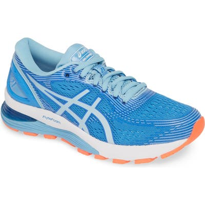 Asics Gel-Nimbus 21 Running Shoe, Blue