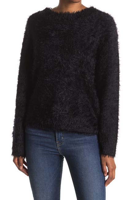 Image of Velvet Heart Brooklyn Fuzzy Knit Pullover Sweater