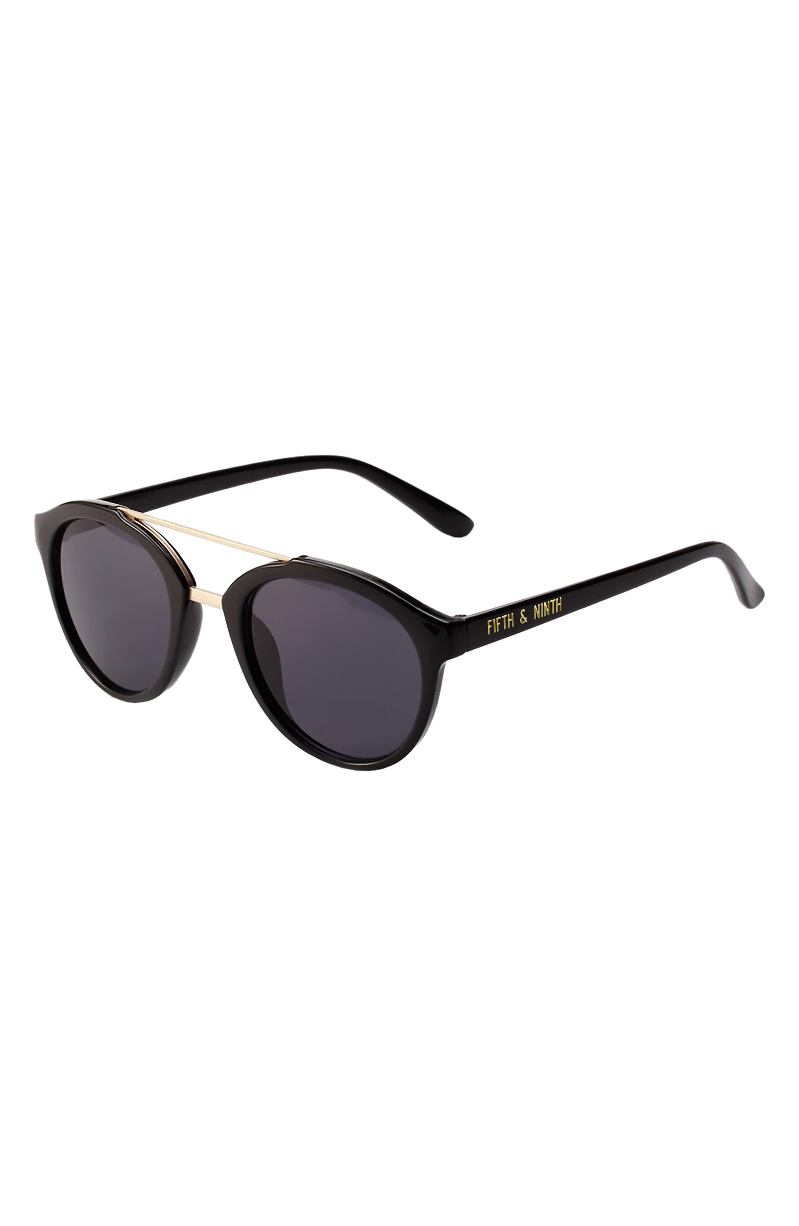 Camden 48mm Round Sunglasses