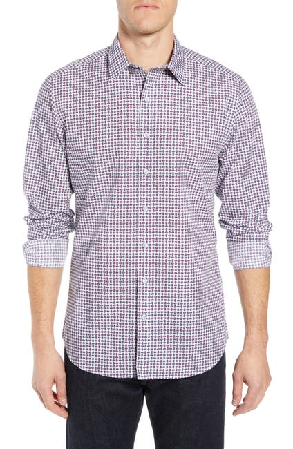Image of RODD AND GUNN Dale Regular Fit Print Sport Shirt