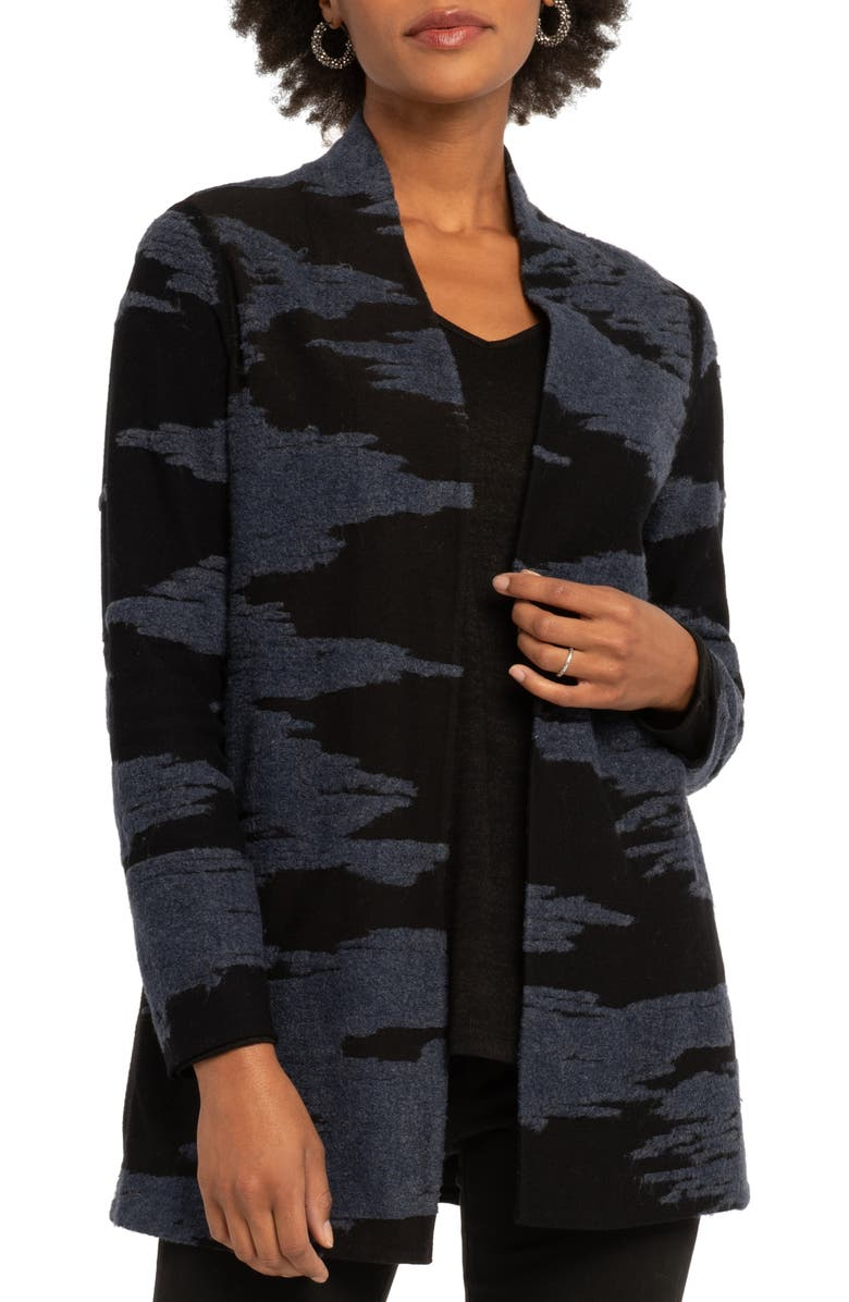 NIC+ZOE Big Sky Sweater Jacket, Main, color, MULTI