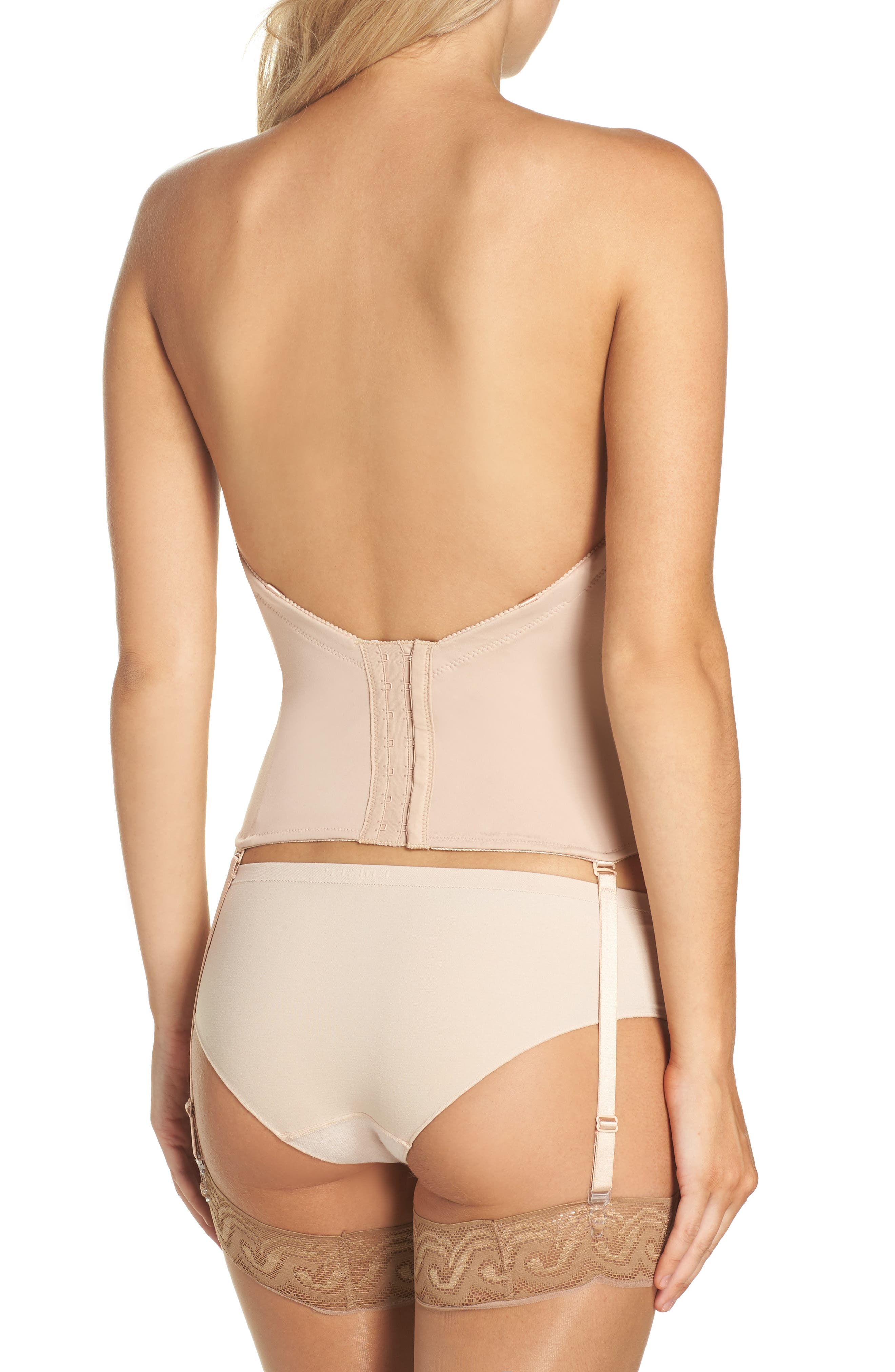 ,                             Ultra-Lift Low Back Bustier,                             Alternate thumbnail 2, color,                             261