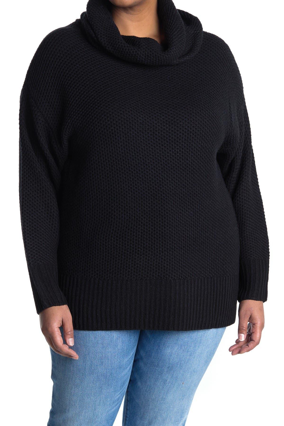 Image of Sanctuary Cowl Neck Tunic Sweater