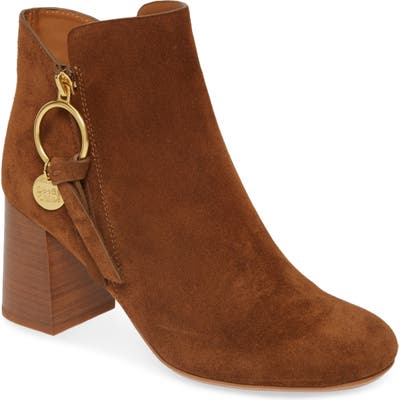 See By Chloe Louise Bootie, Brown