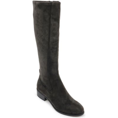 Splendid Patch Knee High Boot, Grey