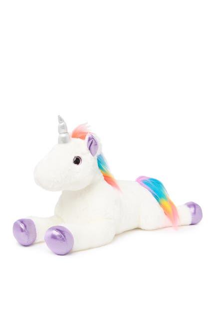 Image of Aurora World Toys Rainbow Unicorn Plush