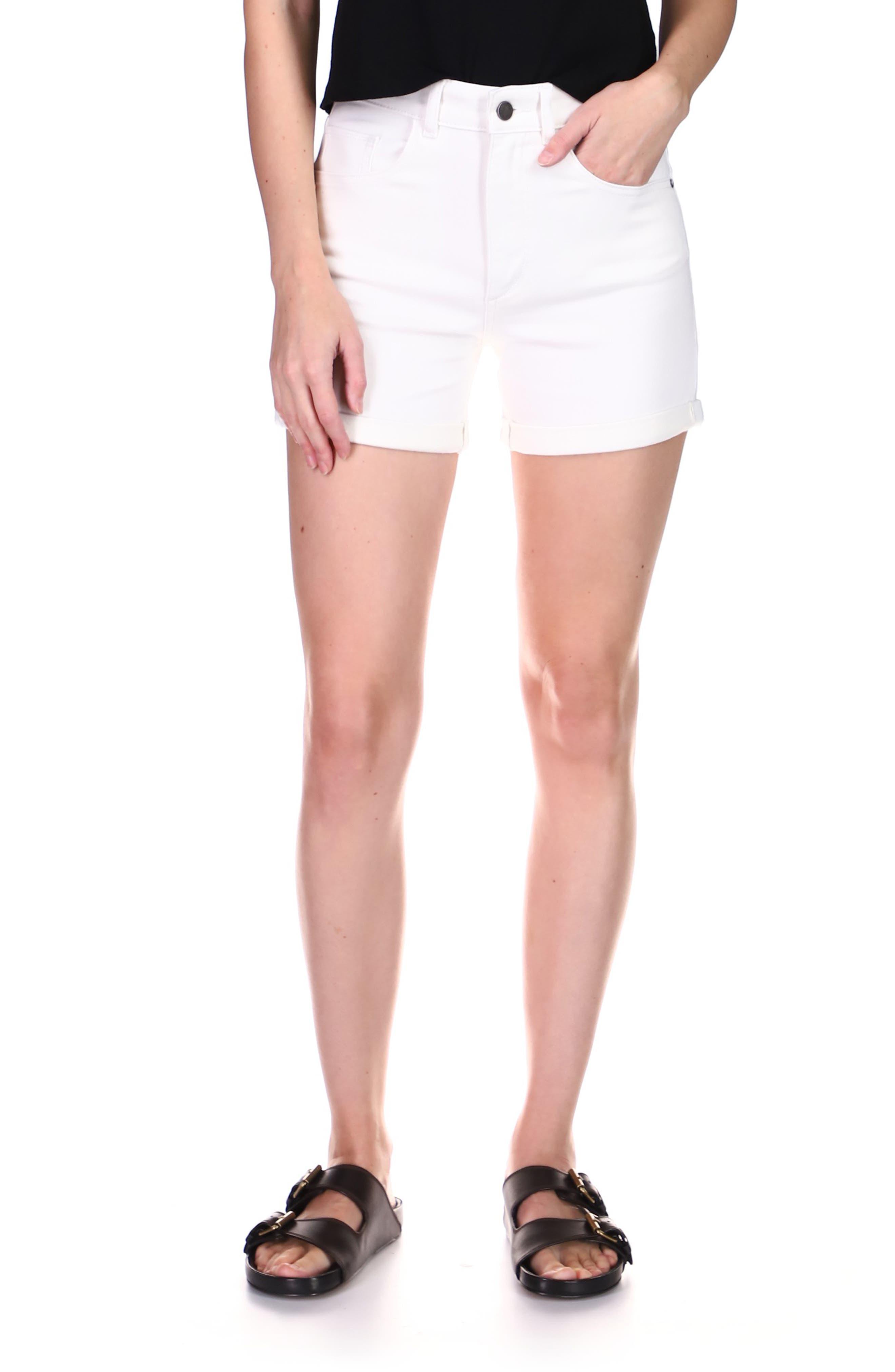 1961 Cecilia High Waist Denim Shorts