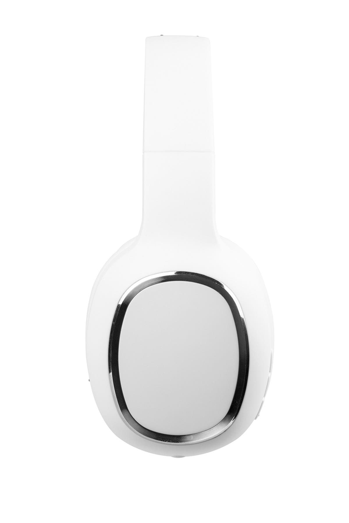 Image of CYLO White/GM Free Wave Bluetooth Headphones