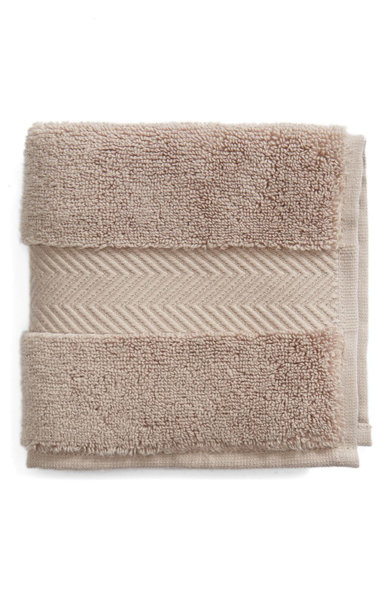 NORDSTROM AT HOME Hydrocotton Washcloth, Main, color, GREY SPHERE