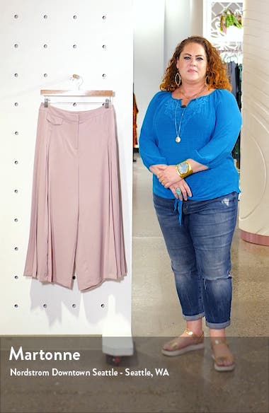 Crop Wide Leg Trousers, sales video thumbnail