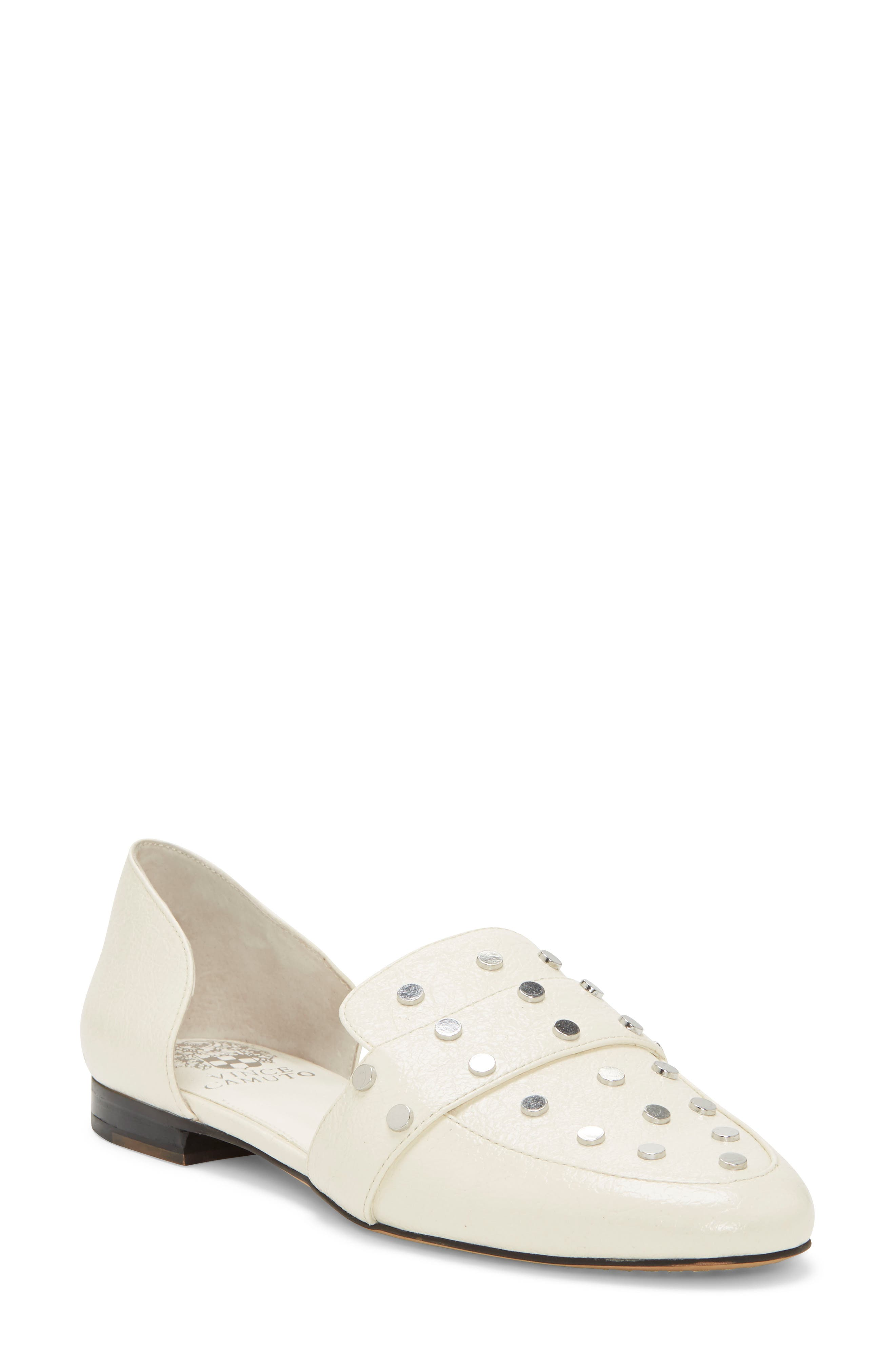 Vince Camuto Wenerly Studded d'Orsay Loafer (Women)