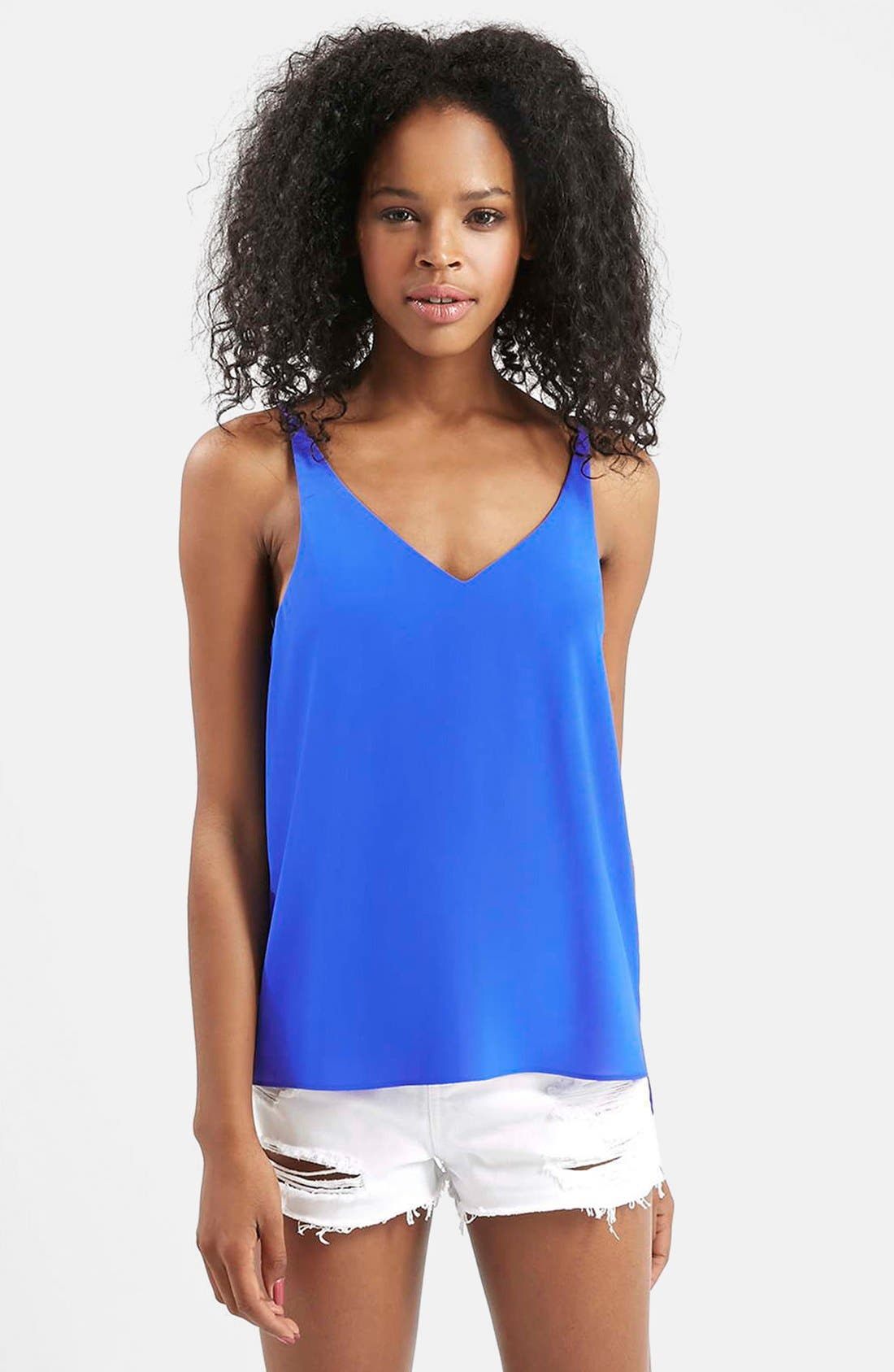 ,                             Strappy V-Neck Camisole,                             Main thumbnail 24, color,                             430