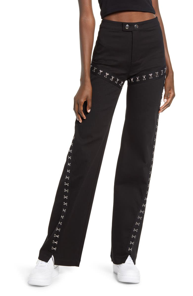 I.AM.GIA Pandora Pants, Main, color, BLACK