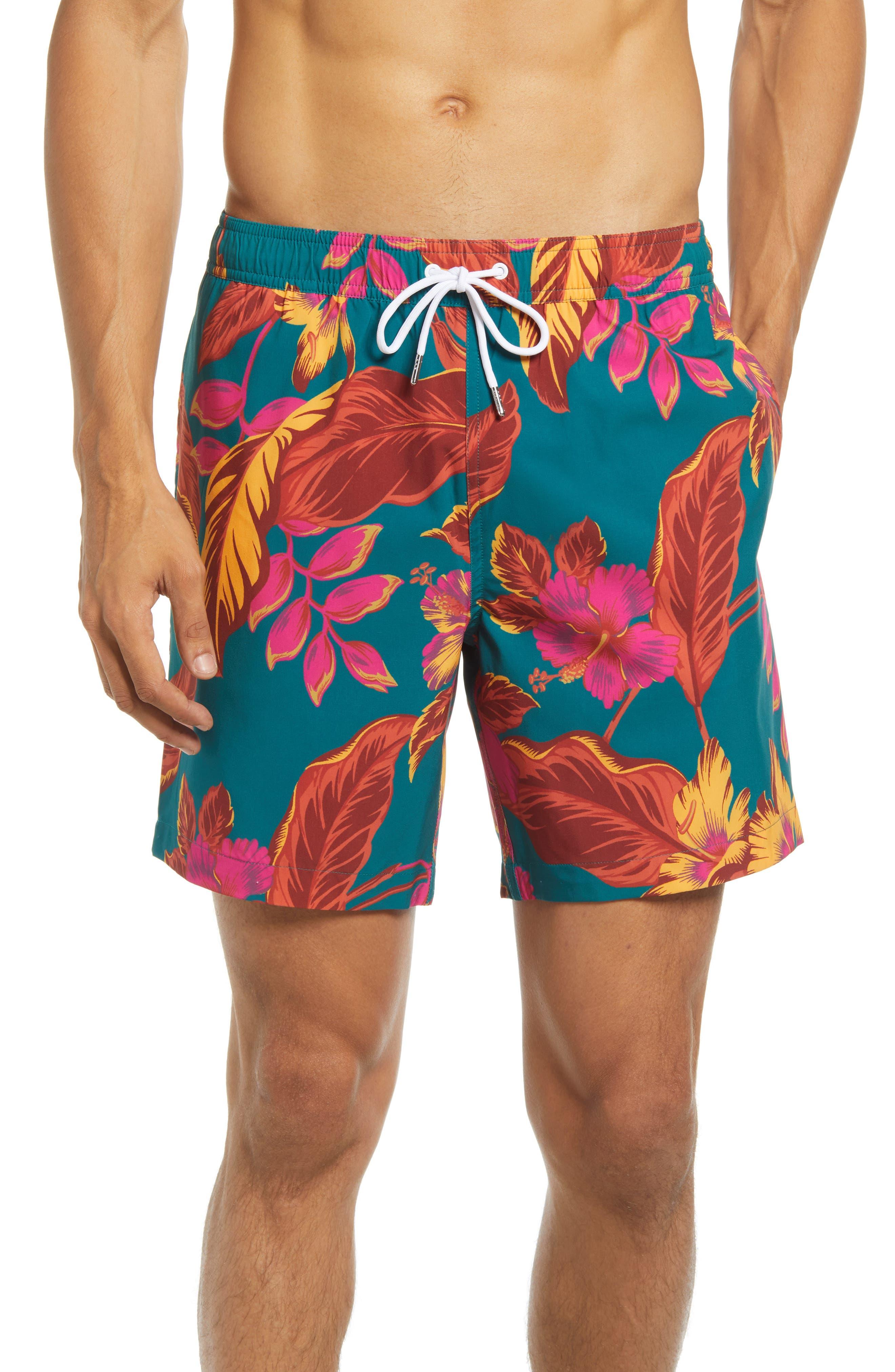 Waimea Floral Swim Trunks