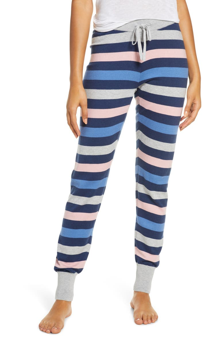 HATLEY Twilight Sweater Knit Lounge Pants, Main, color, BLUE