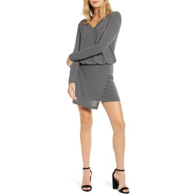 Bailey 44 Lloyd Blouson Long Sleeve Sweater Dress, Grey