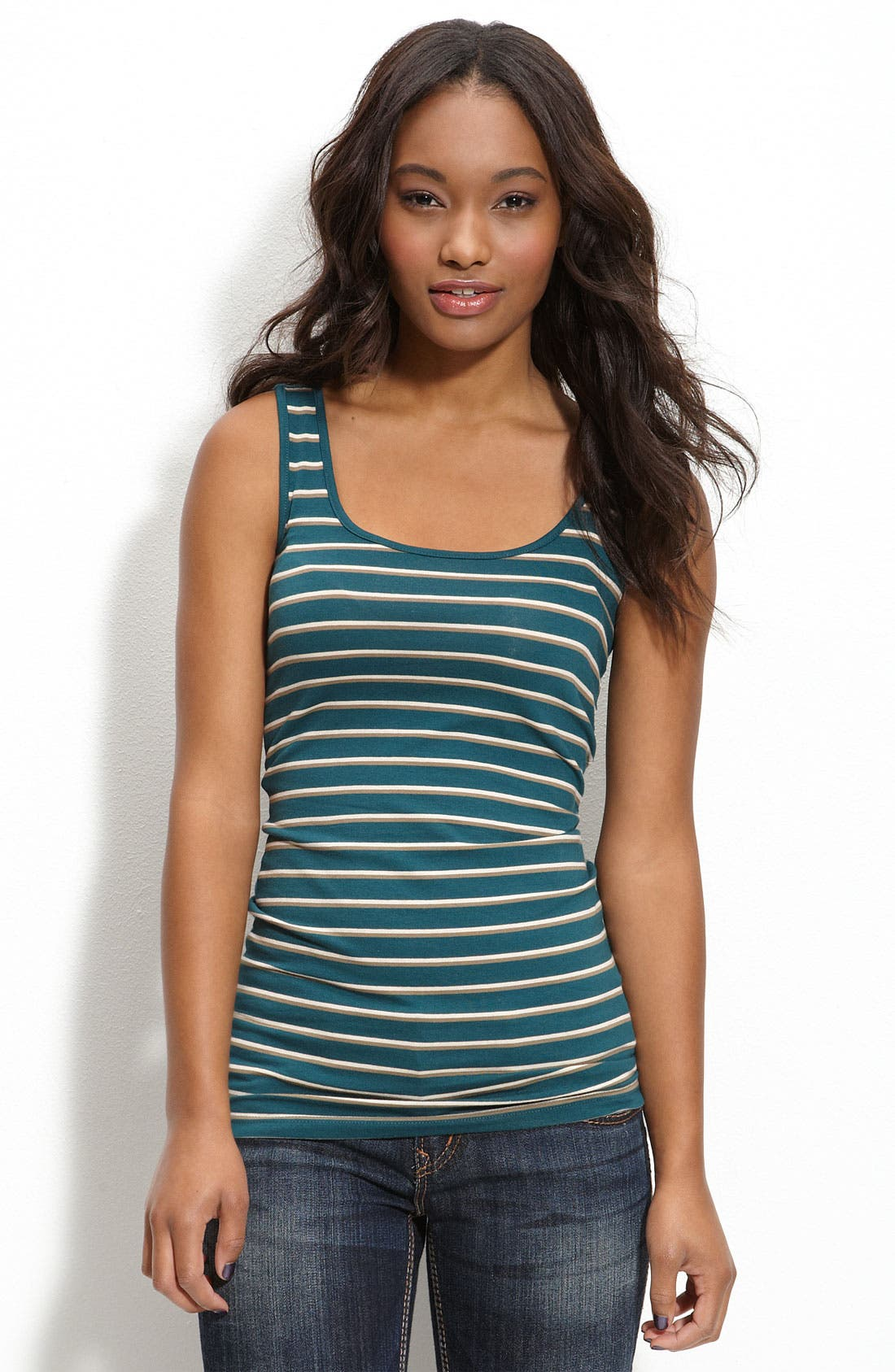 ,                             Double Scoop Neck Tank,                             Main thumbnail 184, color,                             440