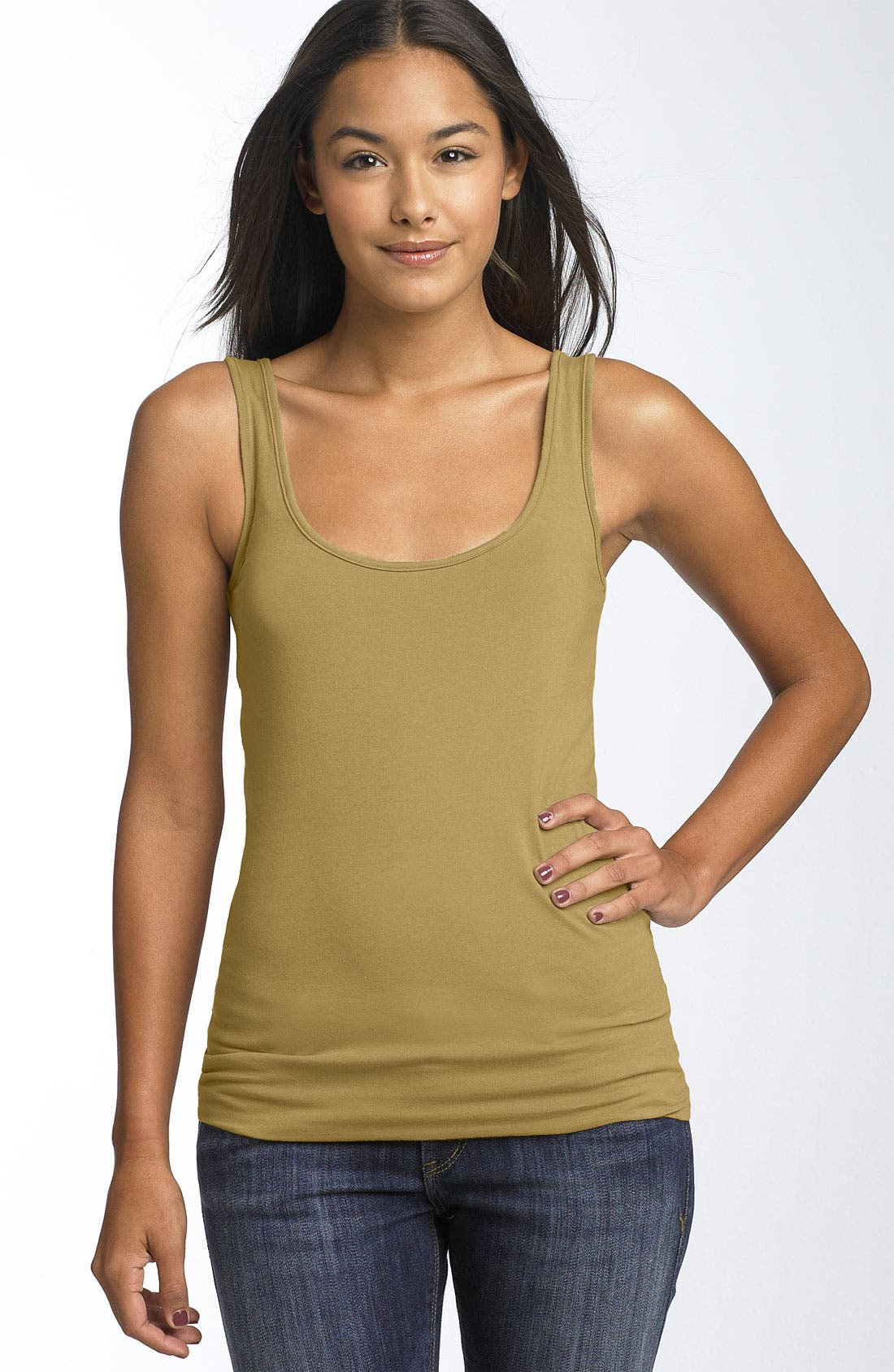 ,                             Double Scoop Neck Tank,                             Main thumbnail 319, color,                             712