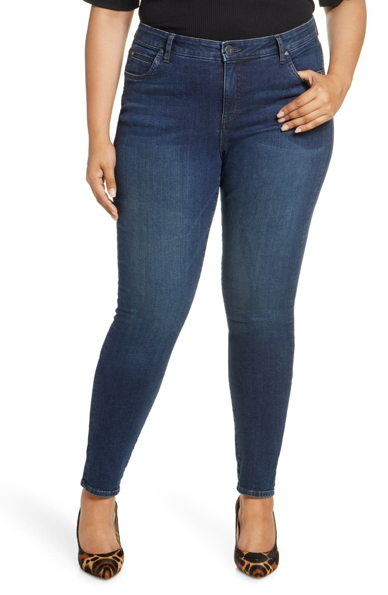 KUT FROM THE KLOTH Diana Skinny Jeans, Main, color, ADDICTED