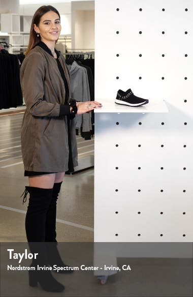 Verona Studded Knit Sneaker, sales video thumbnail