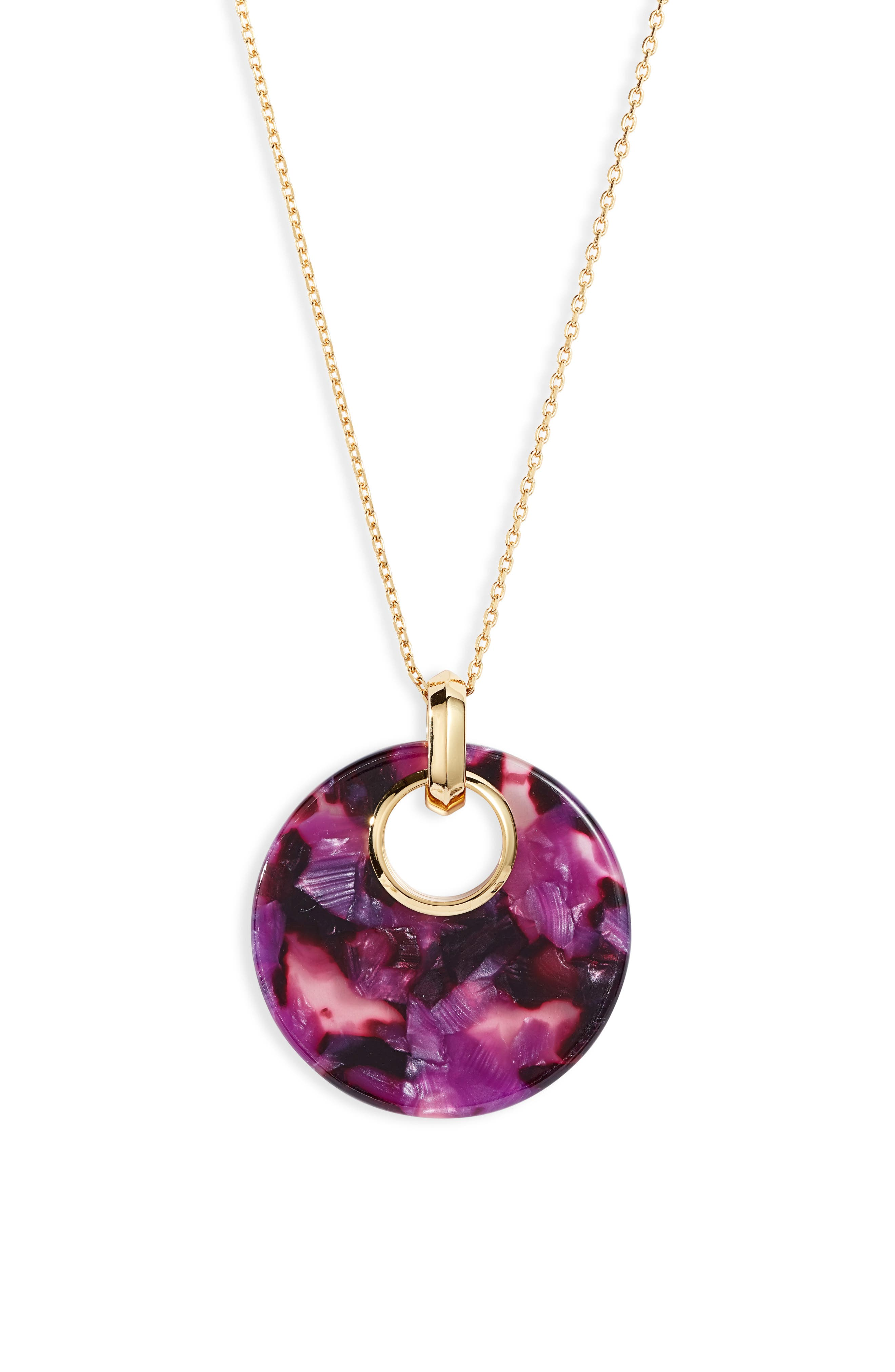Image of kate spade new york smal pendant necklace