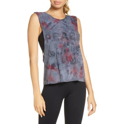 Spiritual Gangster Peace Galaxy Active Flow Muscle Tee, Blue