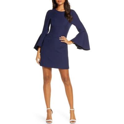 Lilly Pulitzer Kayla Stretch Blend Minidress, Blue