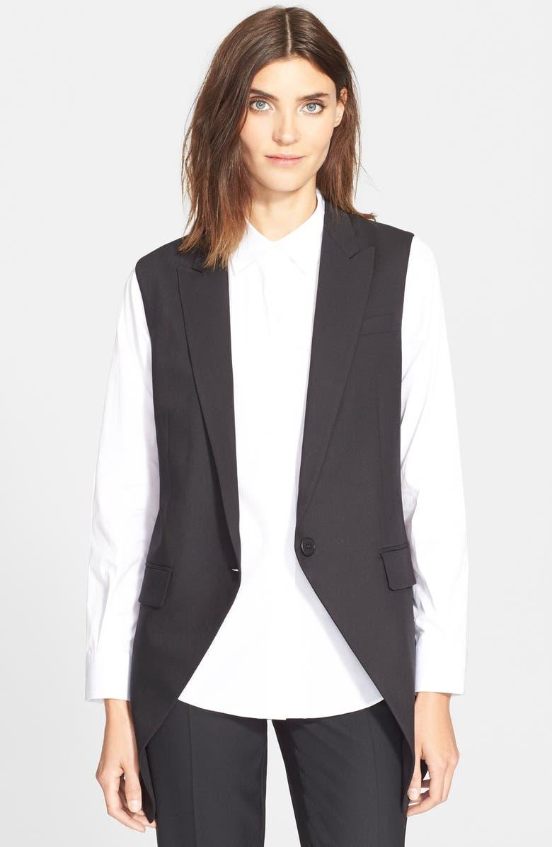 THEORY 'Flavio' Vest, Main, color, 001