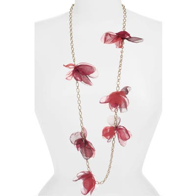 Stella + Ruby Chiffon Petal Necklace