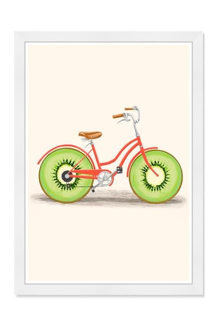 Image of Wynwood Studio Kiwi Bike Green Framed Wall Art