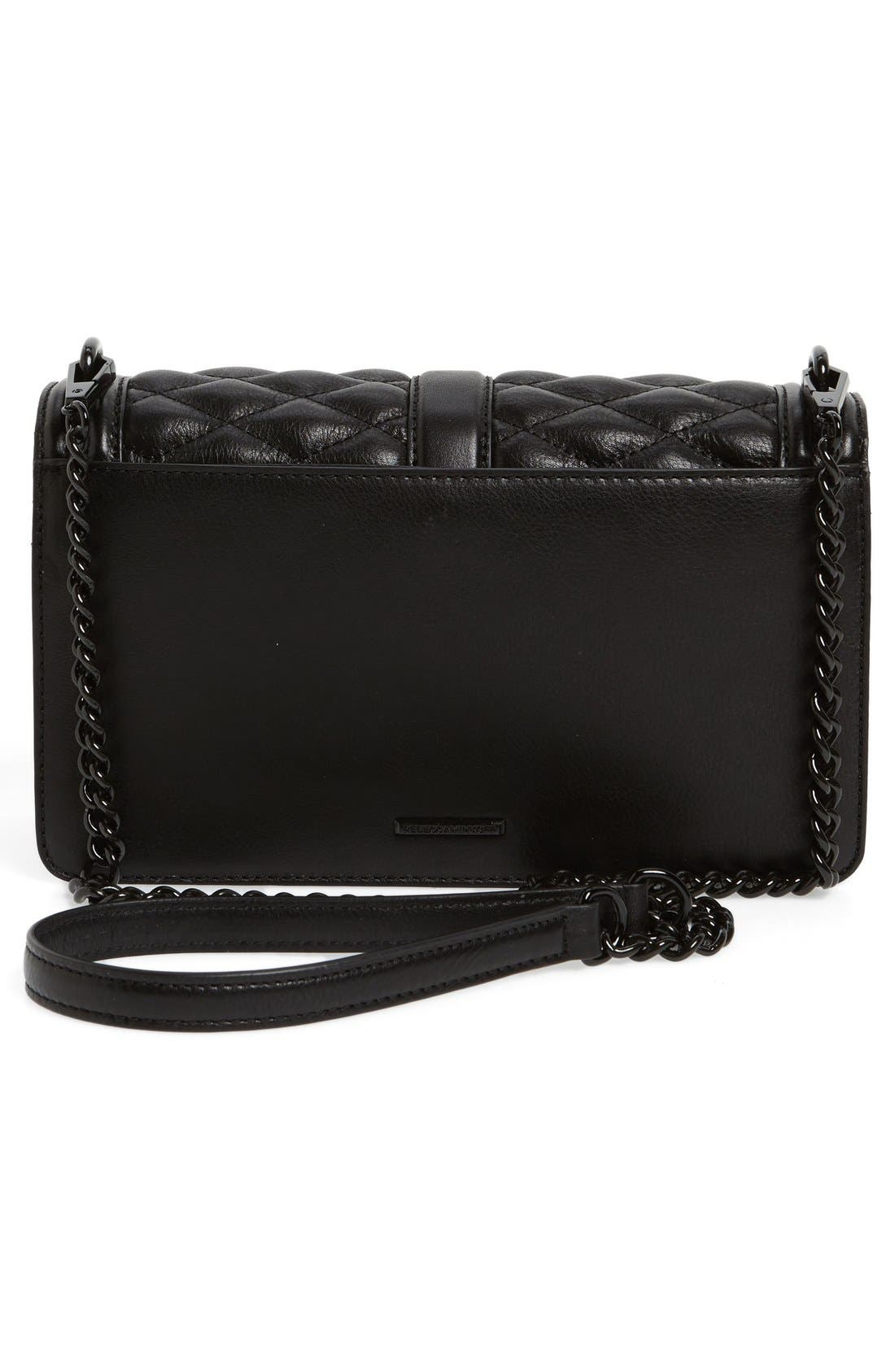 ,                             Love Leather Crossbody Bag,                             Alternate thumbnail 45, color,                             006