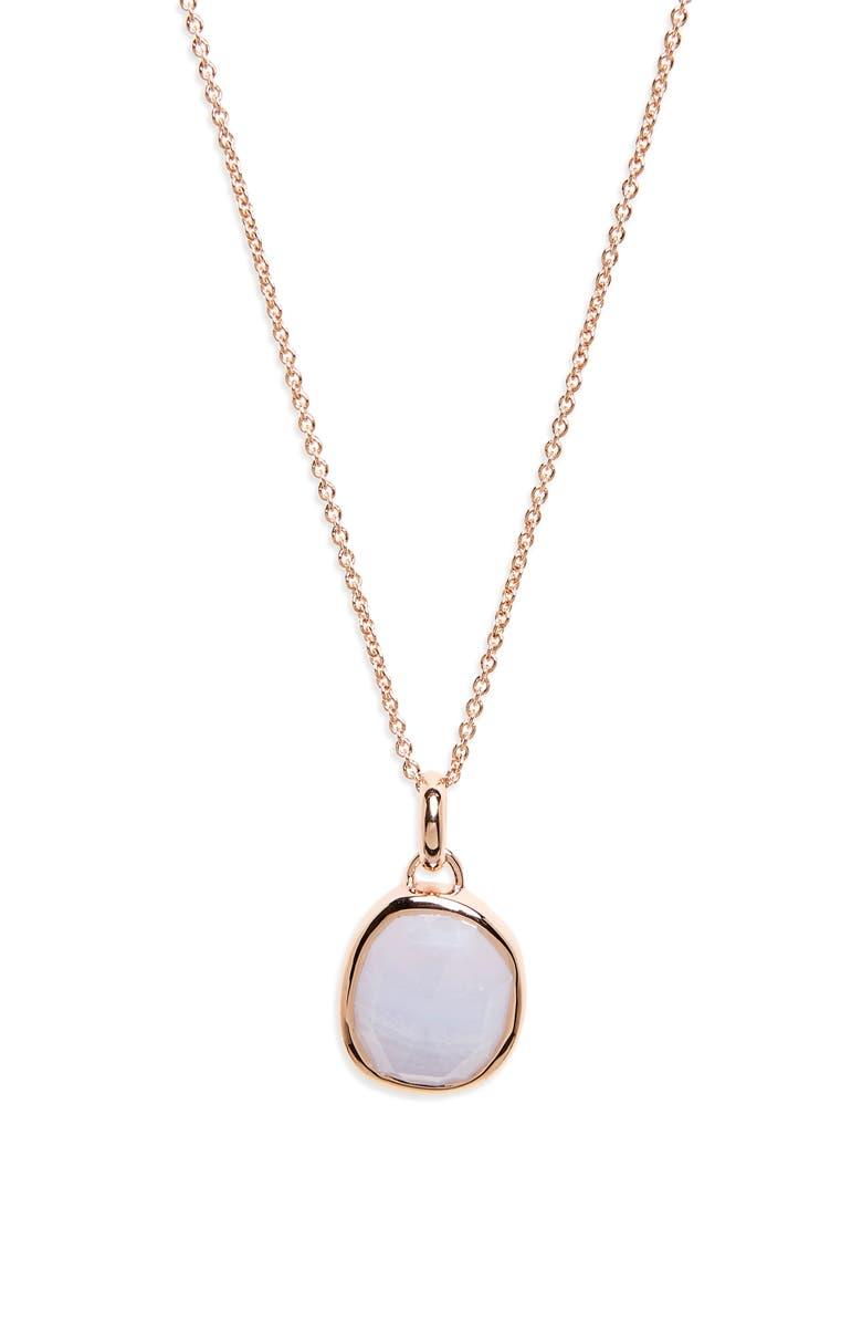 MONICA VINADER Siren Semiprecious Stone Pendant Necklace, Main, color, 401