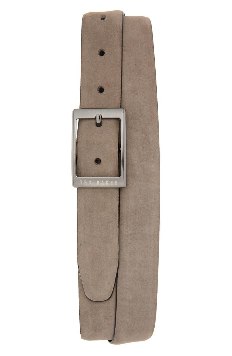 Ted Baker London Nubuck Leather Belt