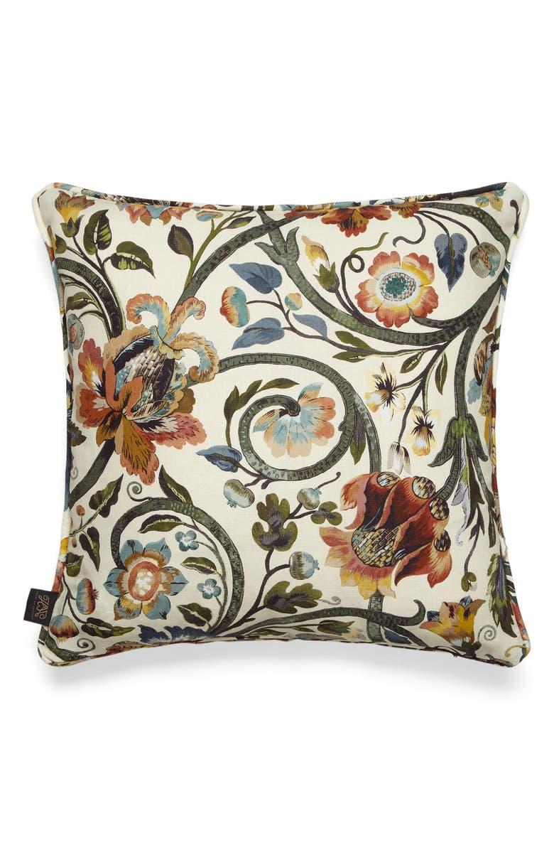 HOUSE OF HACKNEY Gaia Linen Blend Accent Pillow, Main, color, 100